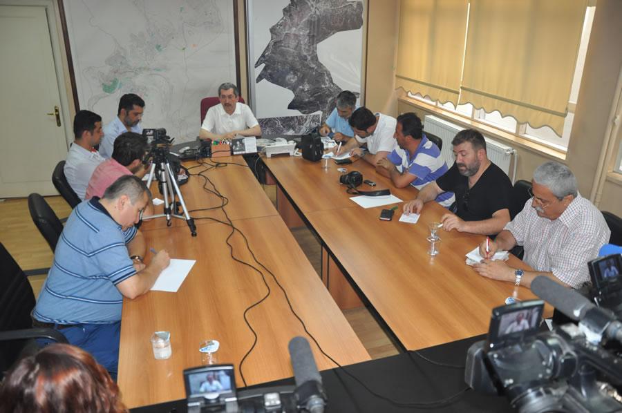 Başkan Vergili Gazetecilerin Basın Bayramını Kutladı