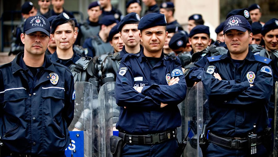 """Başkan Vergili: """"Türk Polis Teşkilatı Gecesini Gündüzüne Katarak Çalışmaktadır"""""""