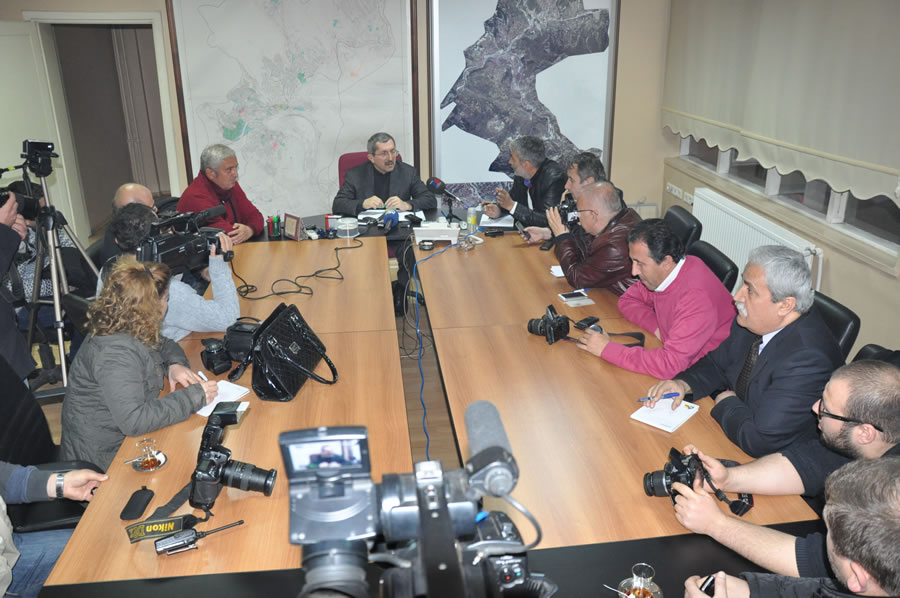 Karabük Belediye Başkanı Rafet Vergili'nin 10 Ocak Çalışan Gazeteciler Günü Kutlama Mesajı