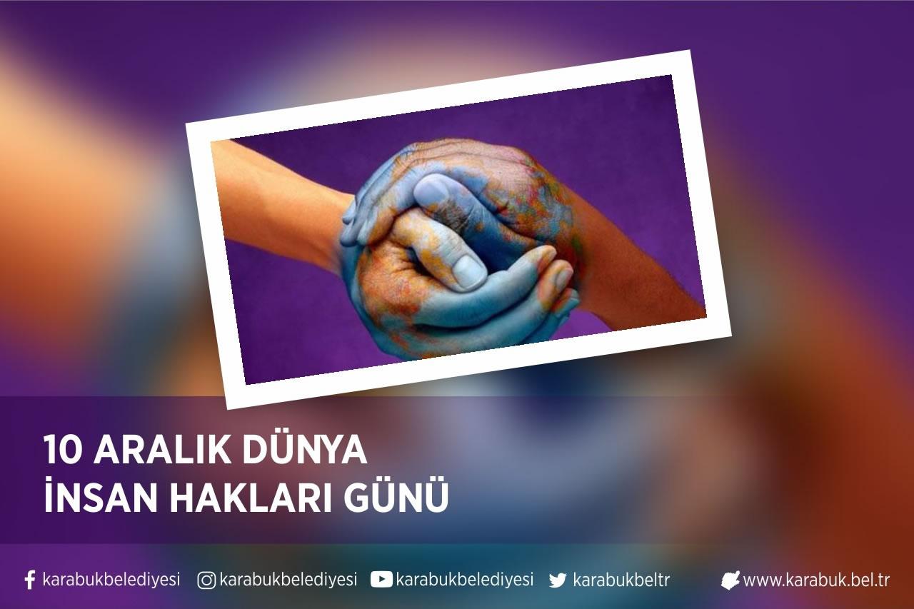 Başkan Vergili'den 10 Aralık Dünya İnsan Hakları Günü Mesajı