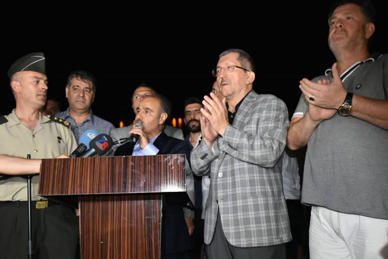Başkan Vergili'den 15 Temmuz Şehitlerimizi Anma, Demokrasi ve Milli Birlik Günü Mesajı