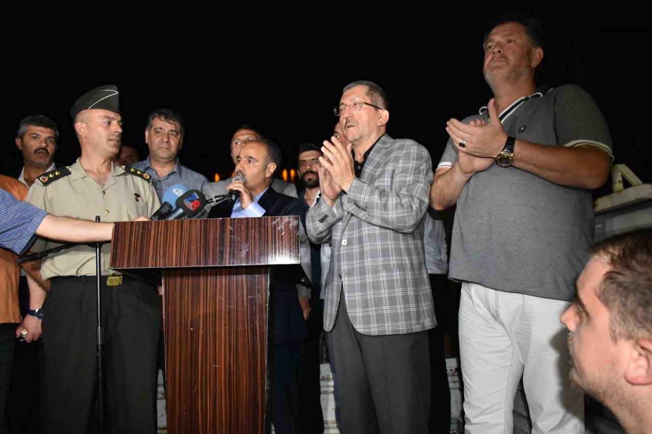 Başkan Rafet Vergili'den 15 Temmuz Demokrasi ve Milli Birlik Günü Mesajı