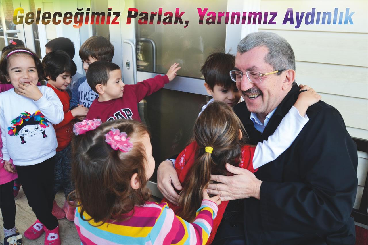 Başkan Vergili'den 23 Nisan Ulusal Egemenlik ve Çocuk Bayramı Kutlama Mesajı