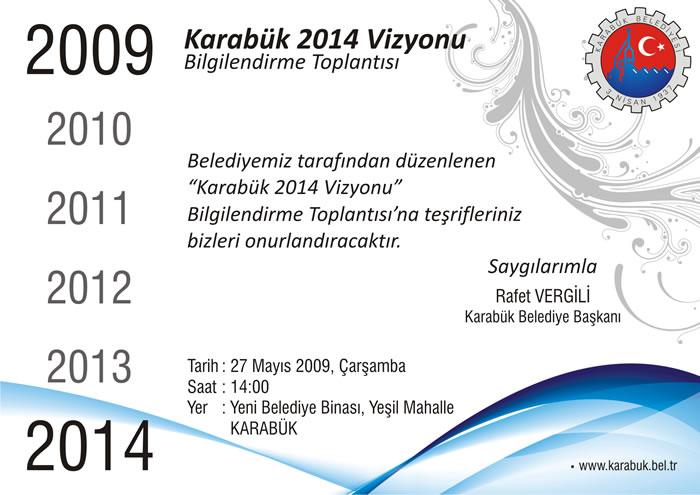 Karabük 2014 Vizyonu