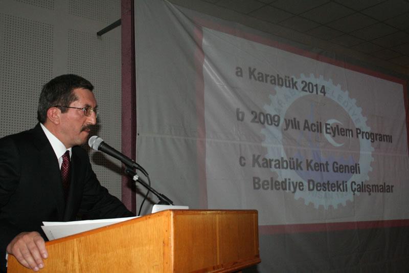 Karabük 2014 Vizyonu Çalışmalarımız Devam Ediyor