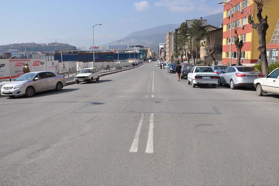 Ö. Lütfü Özaytaç Caddesi (PTT Yolu) Çalışmaları