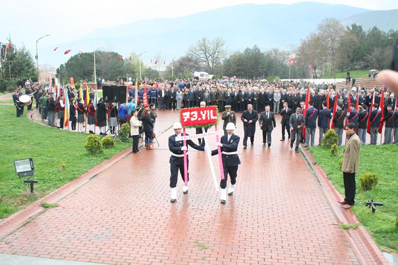 3 Nisan Demir Çelik Fabrikalarının Temellerinin Atılması ve Karabük'ün Kuruluşunun 73. Yıldönümü (2010)