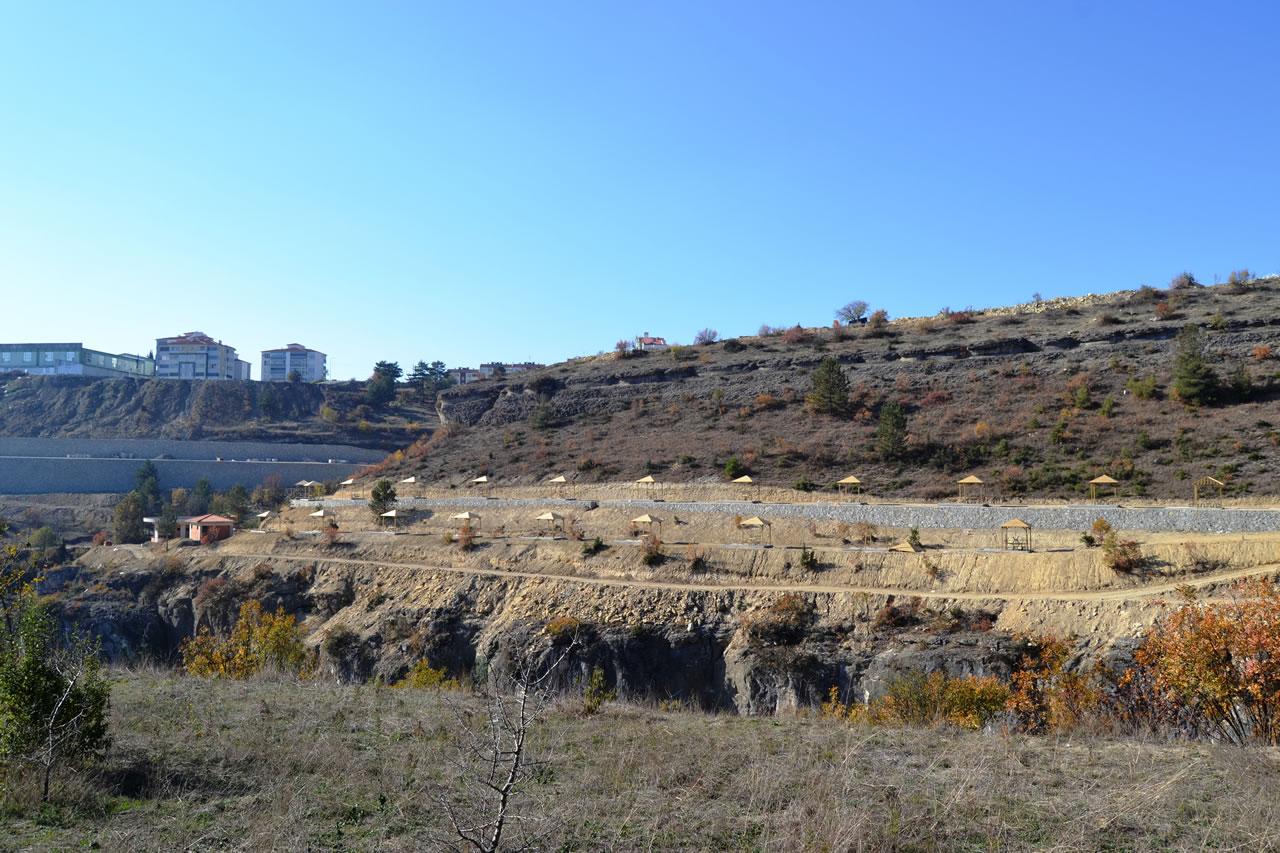 Kanyon Park Peyzaj Düzenleme Projesi