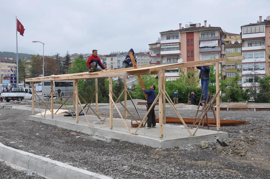 İnşaat Aşaması, Yol ve Çevre Düzenlemesi Çalışmaları