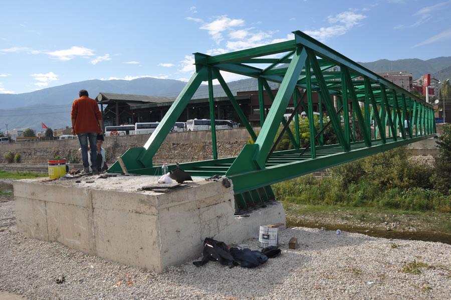 Öğlebeli ve Eregenekon Mahallesi (Şehirlerarası Terminal) Arası Köprü Projesi