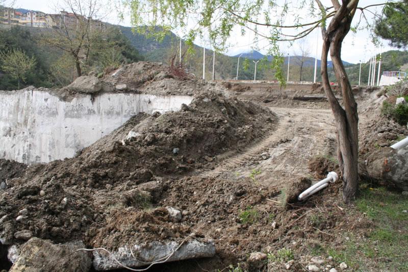 Adatepe Parkı Düzenleme Çalışmaları