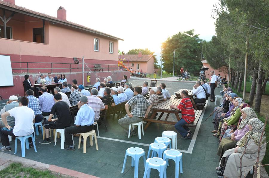 Çerçiler Mahallesi Mahalle Toplantısı