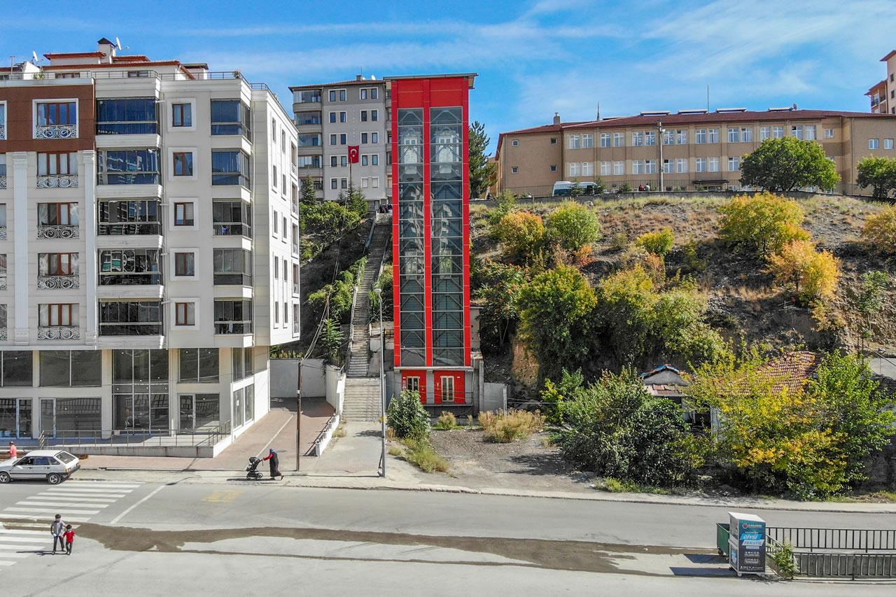 Kule Asansör Projesi (Yeşil Mahalle)