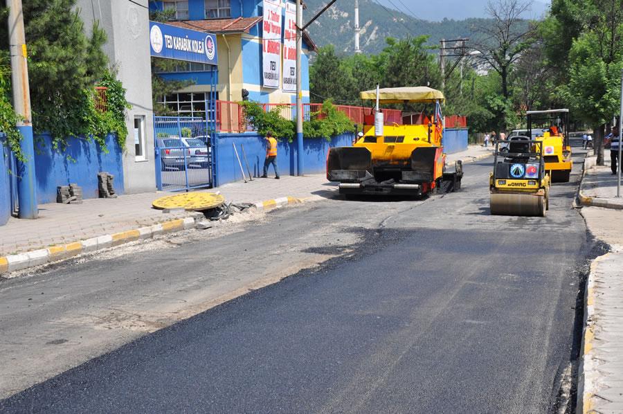 Yenişehir Mahallesi Asfalt Çalışmaları