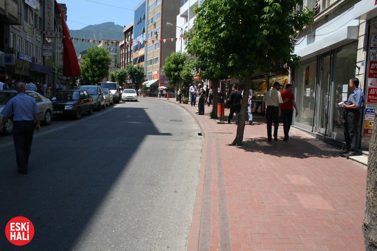 Hürriyet Caddesinin Kapatılması ve Yeniden Düzenlenmesi Projesi