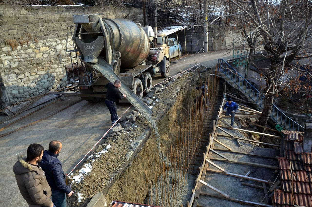 İstinat Duvarı Çalışmaları Projesi