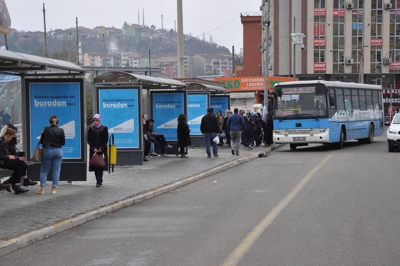 Modern Otobüs Durakları Projesi