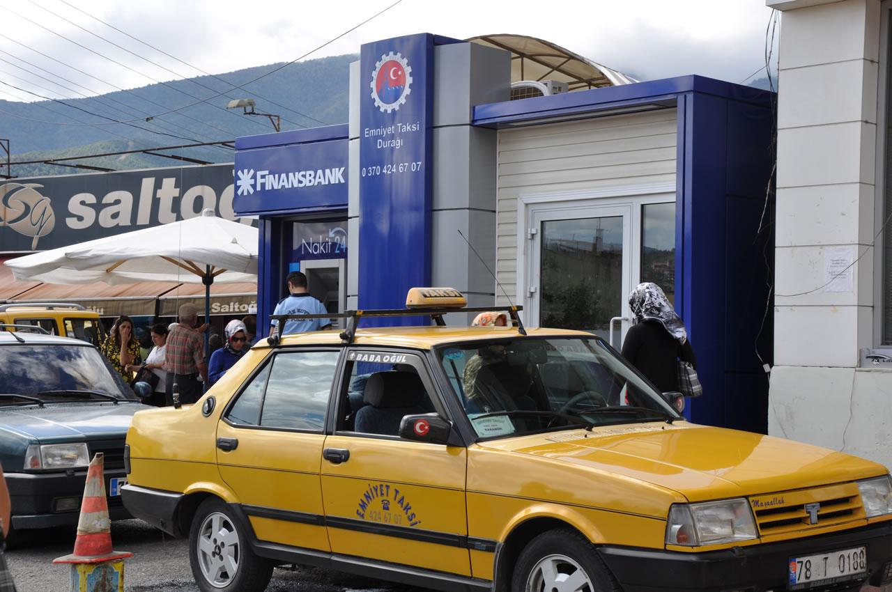 Modern Taksi Durakları Projesi