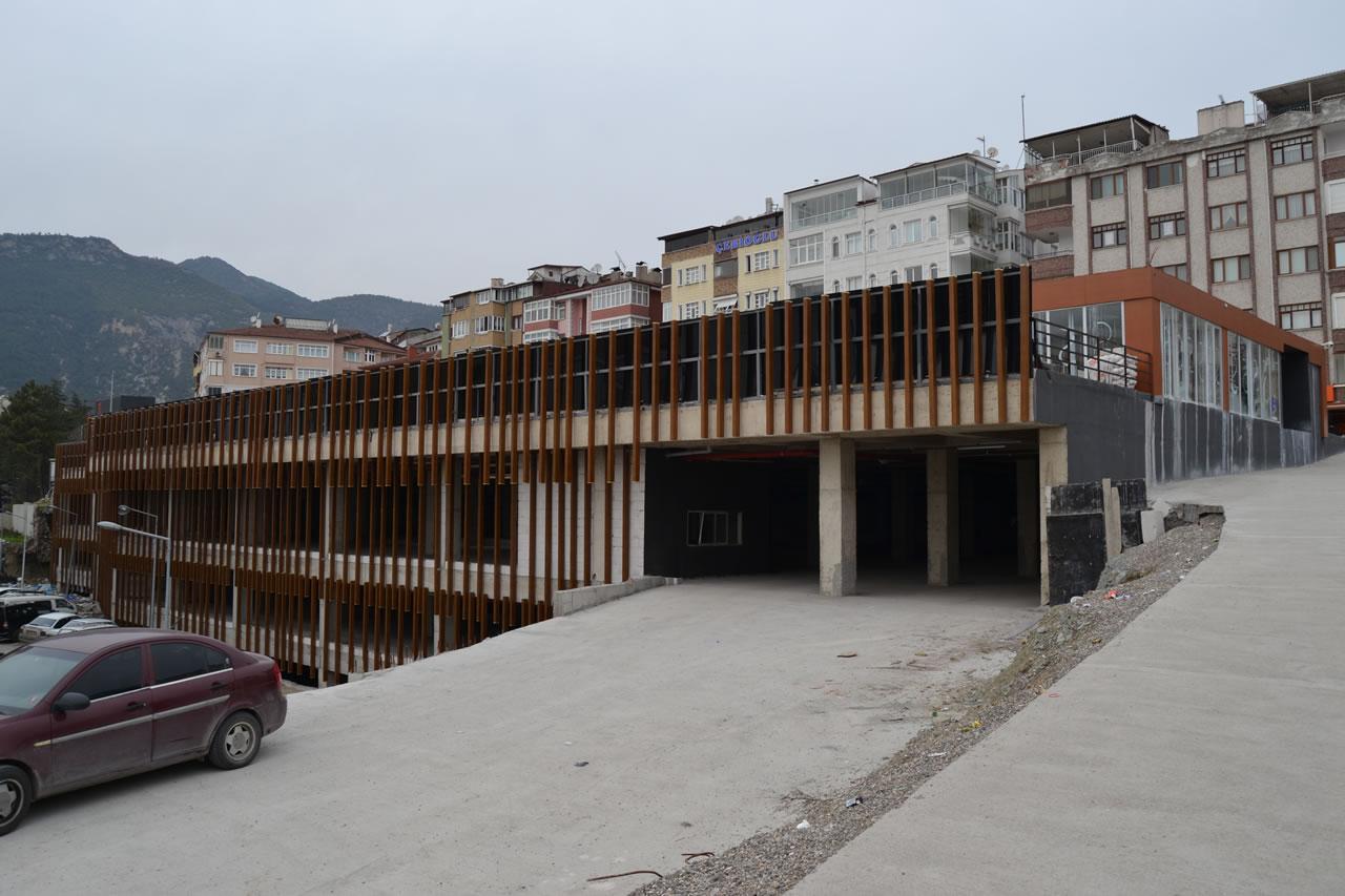 Şirinevler Mahallesi Katlı Otopark ve Pazar Yeri Projesi