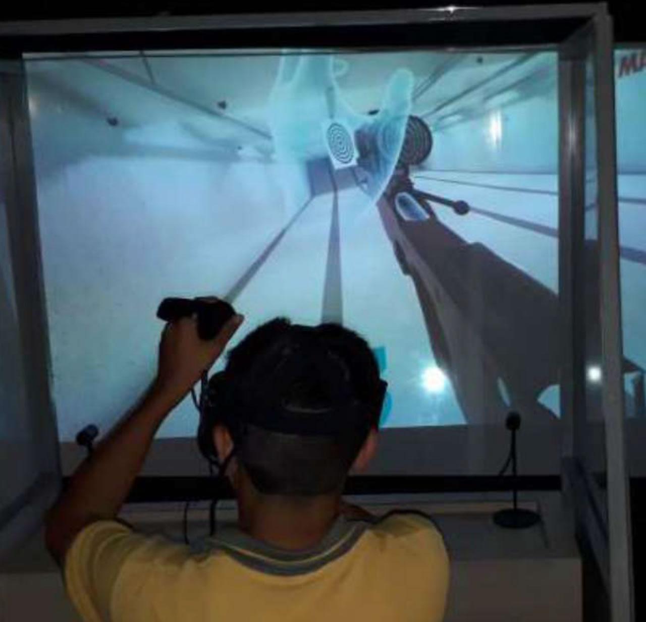 CSI Olay Yeri İnceleme Konsepti - VR Sanal Poligon