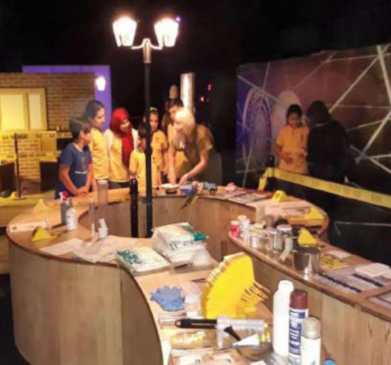 CSI Olay Yeri İnceleme Konsepti - Kriminal İnceleme Arena