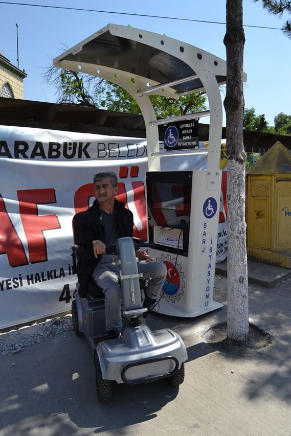 Engelli Aracı Şarj İstasyonu Projesi