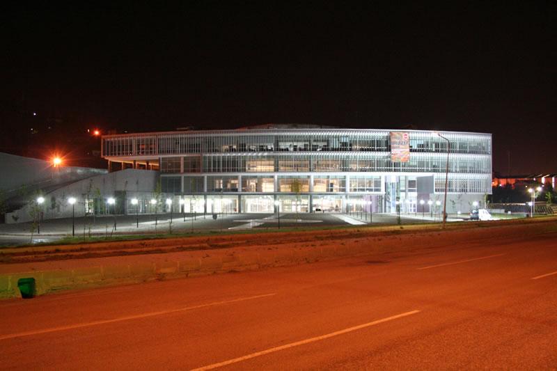 Yeni Belediye Hizmet Binası Aydınlatması