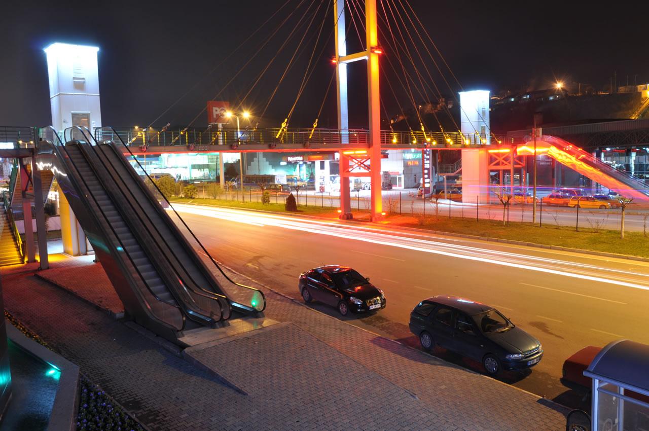 Yaya Üst Geçit Projesi (Terminal)