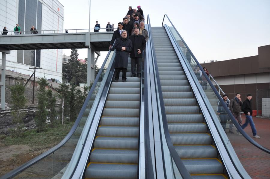 Yürüyen Merdivenler Projesi (Minibüs Terminali)
