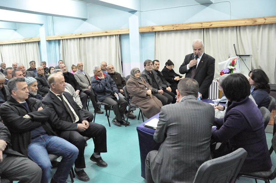 5000 Evler 75. Yıl Mahallesi Mahalle Toplantısı