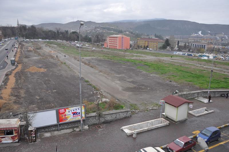 İnşaat Öncesi Kent Meydanı Alanı