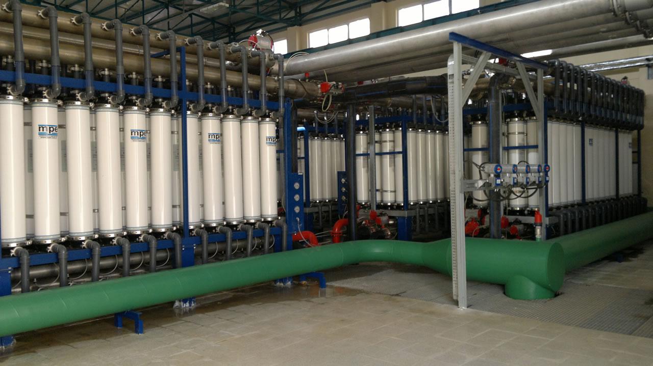İçme Suyu Arıtma Tesisi Yapımı Projesi
