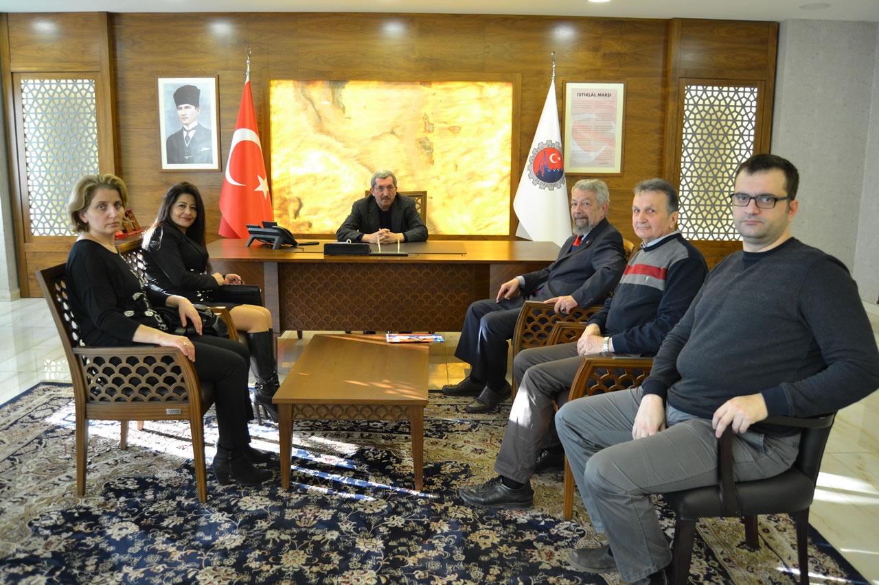 ADD Karabük Şubesinden Başkan Vergili´ye Ziyaret