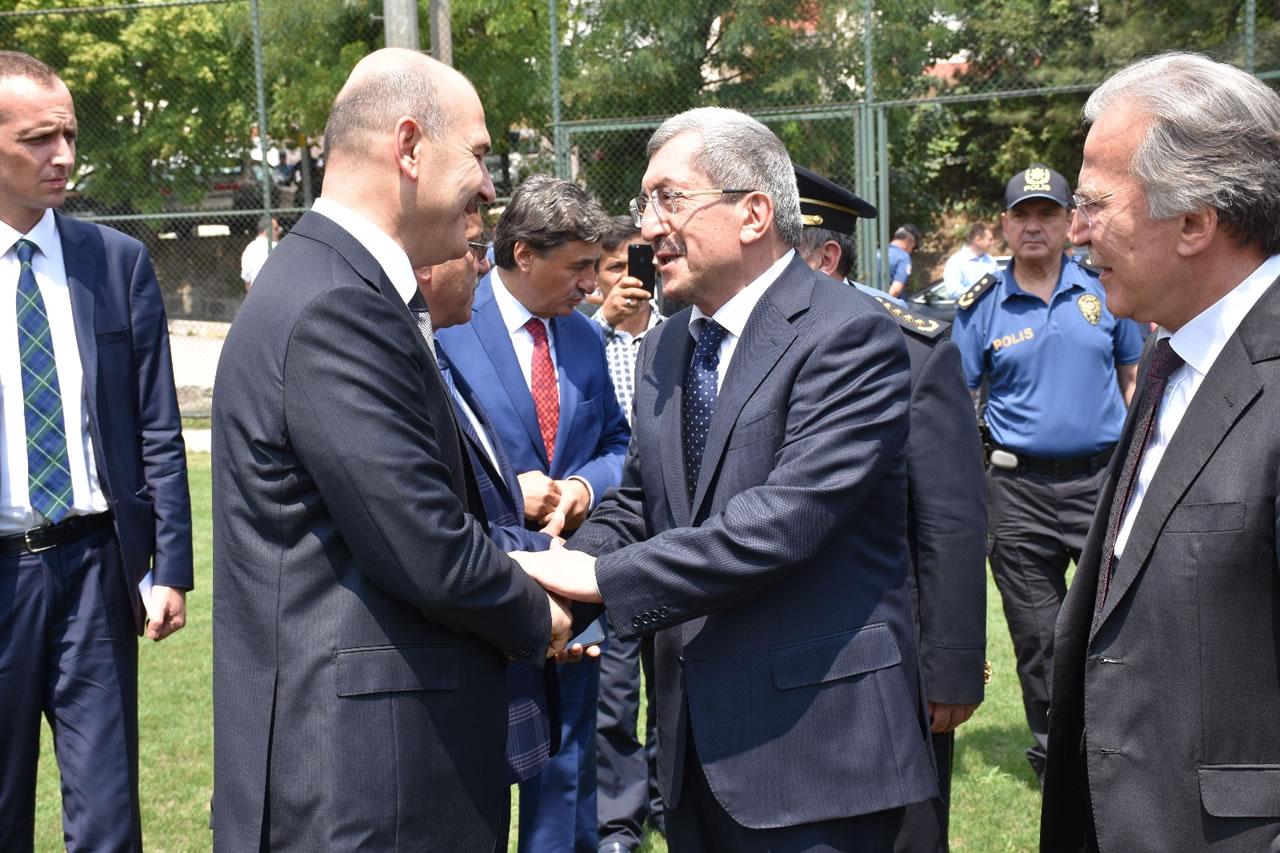 İçişleri Bakanı Soylu Karabük'te