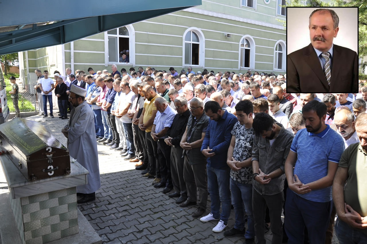 Fevzi Çakmak Mahallesi Eski Muhtarı Mehmet Ertekin Son Yolculuğuna Uğurlandı