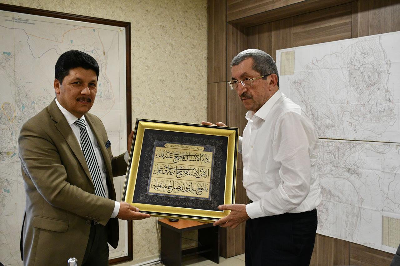 Safranbolu Müftüsü Temur'dan Başkan Vergili´ye Ziyaret