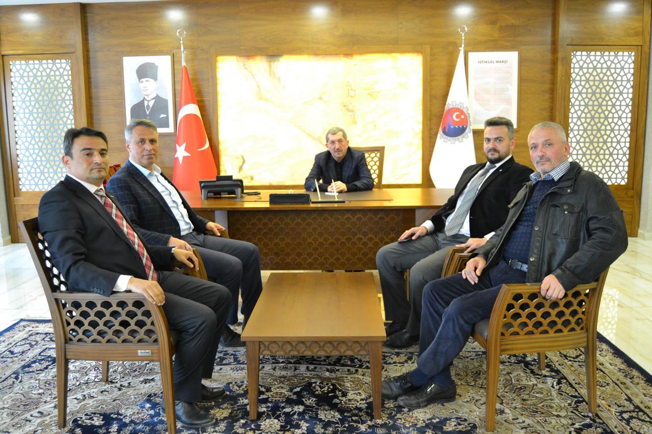 Çerkeş Belediye Başkanı Sopacı'dan Başkan Vergili'ye Ziyaret