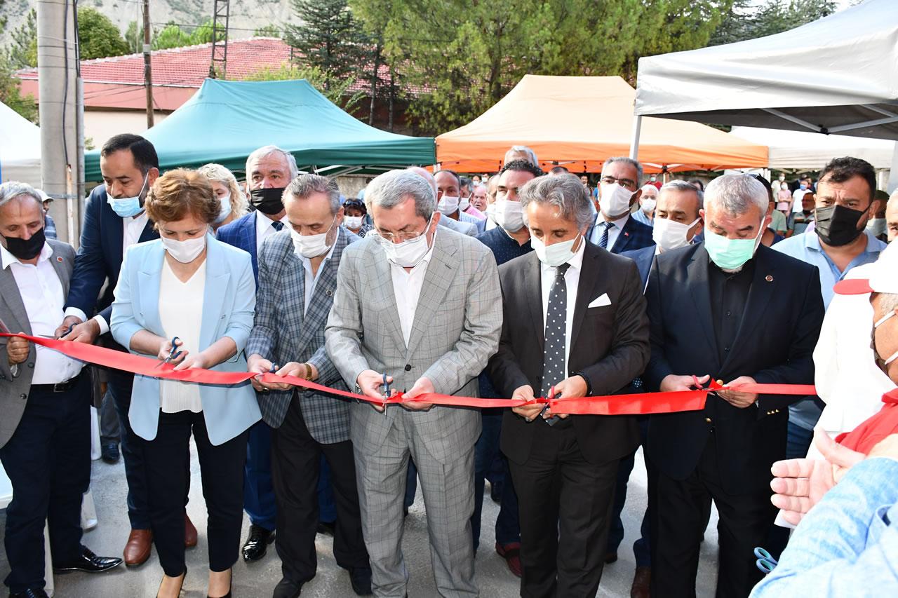 Namık Kemal Mahallesi Kule Asansör Hizmete Açıldı