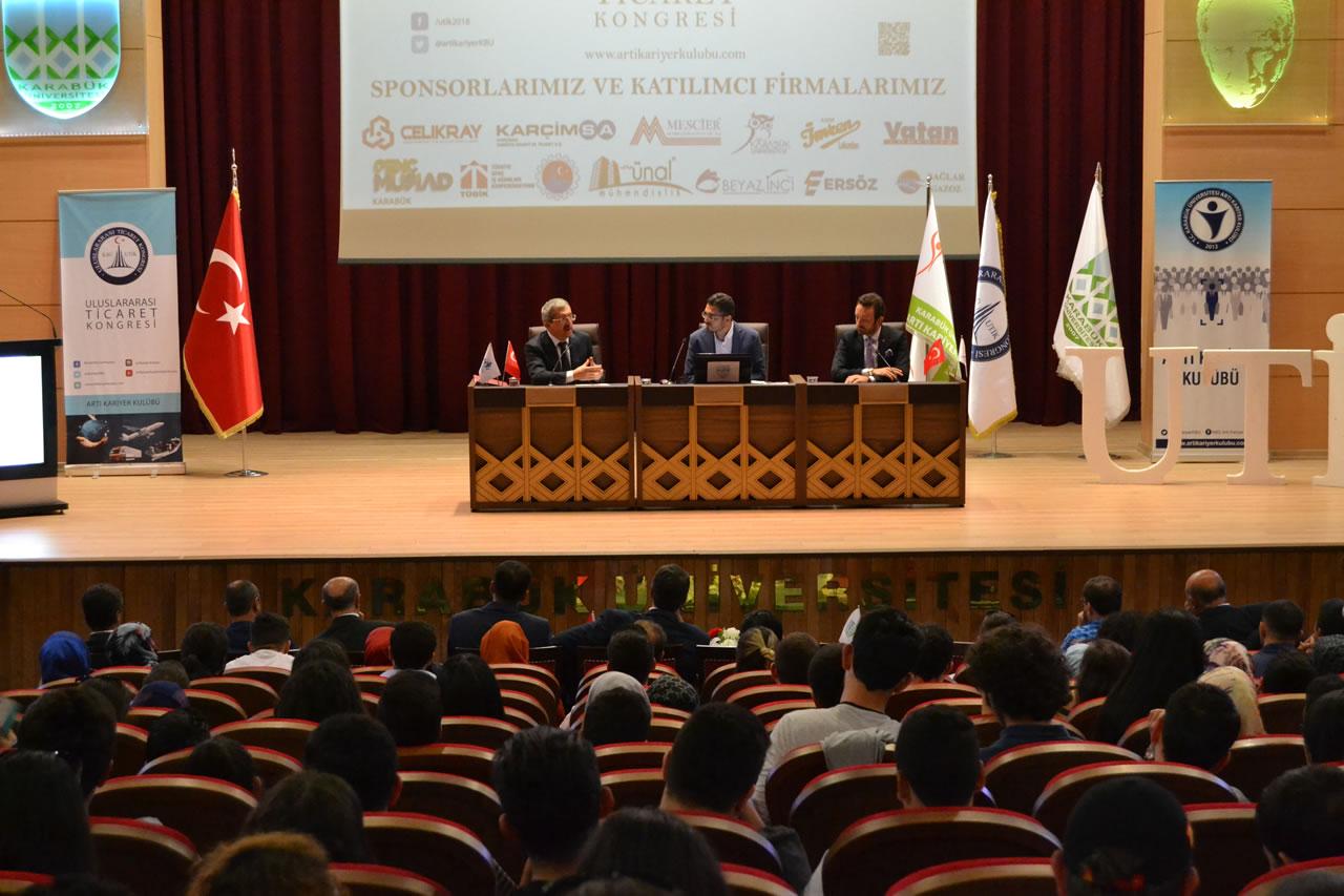 Başkan Vergili 3. Uluslararası Ticaret Kongresine Katıldı