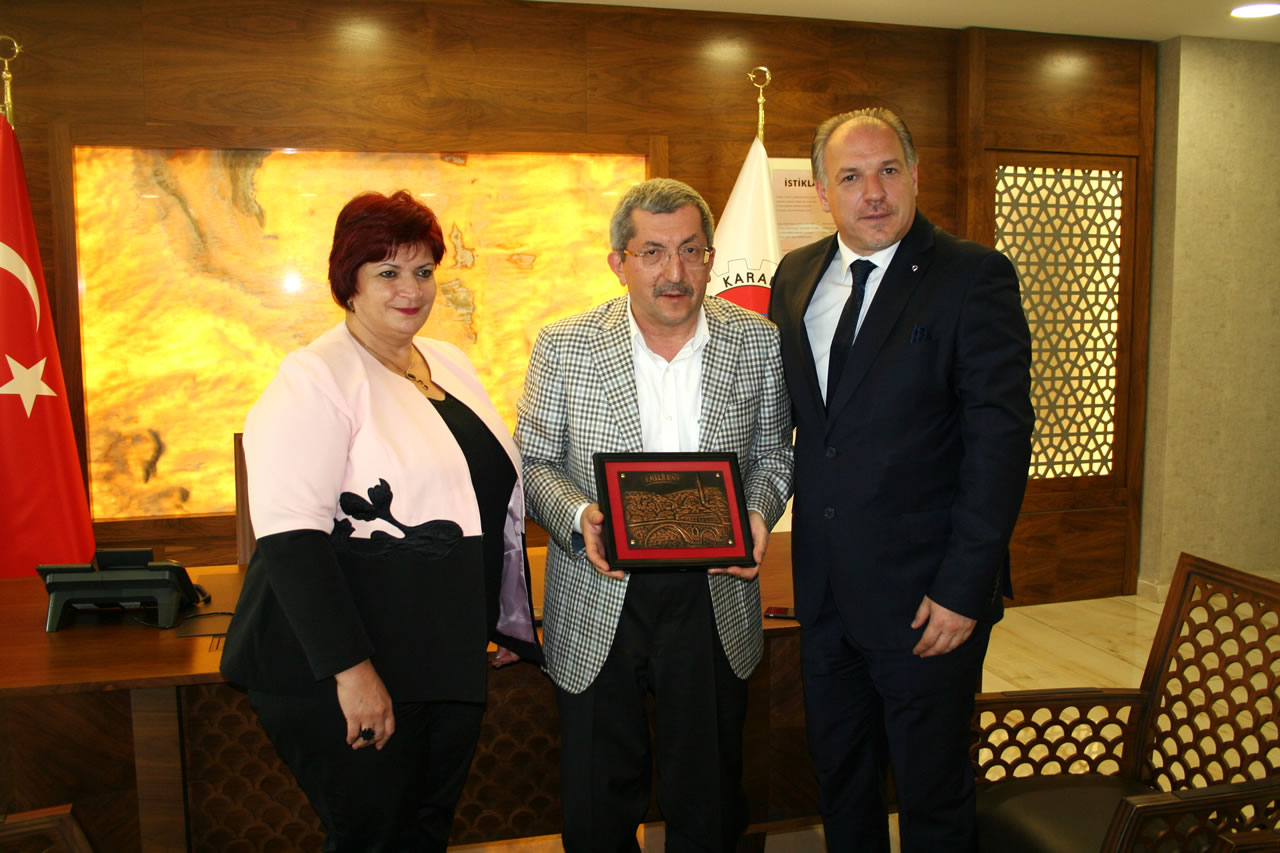 Kosova Meclisi Başkan Yardımcısı Şinik ve Milletvekili Damka'dan Başkan Vergili'ye Ziyaret