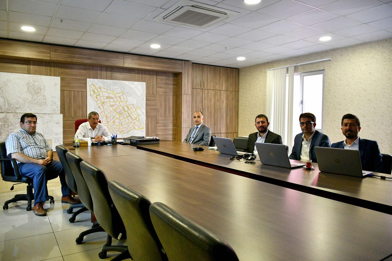 Türk Telekom Genel Müdürlüğünden Başkan Vergili´ye Ziyaret