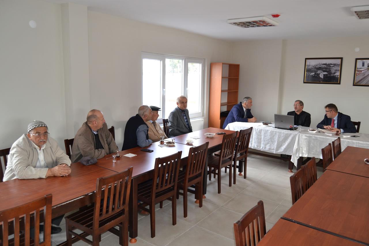 Başkan Vergili Makamını Ergenekon Mahallesine Kurdu