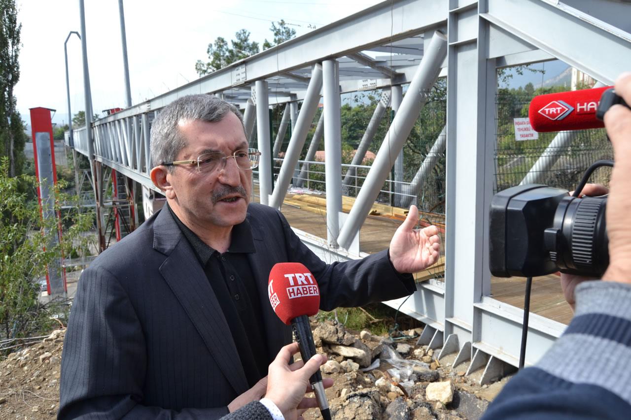 Kartaltepe – Yenişehir Mahallelerini Birleştirecek Köprü Çok Yakında Hizmete Açılacak