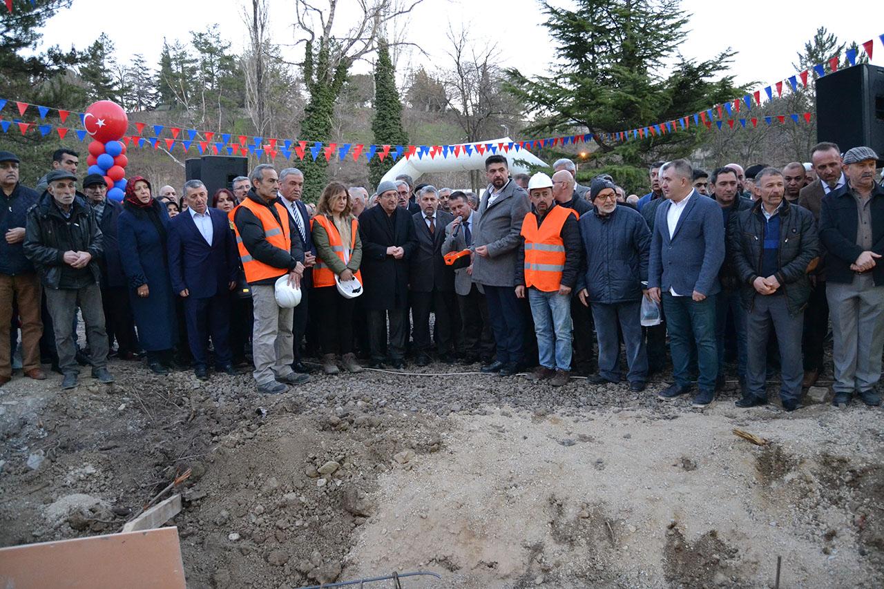 Şehir Parkı Projesinin Temeli Atıldı