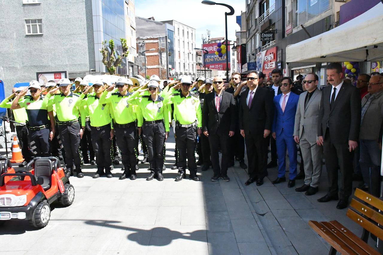 Trafik ve İlk Yardım Haftası Kapsamında Etkinlik Düzenlendi