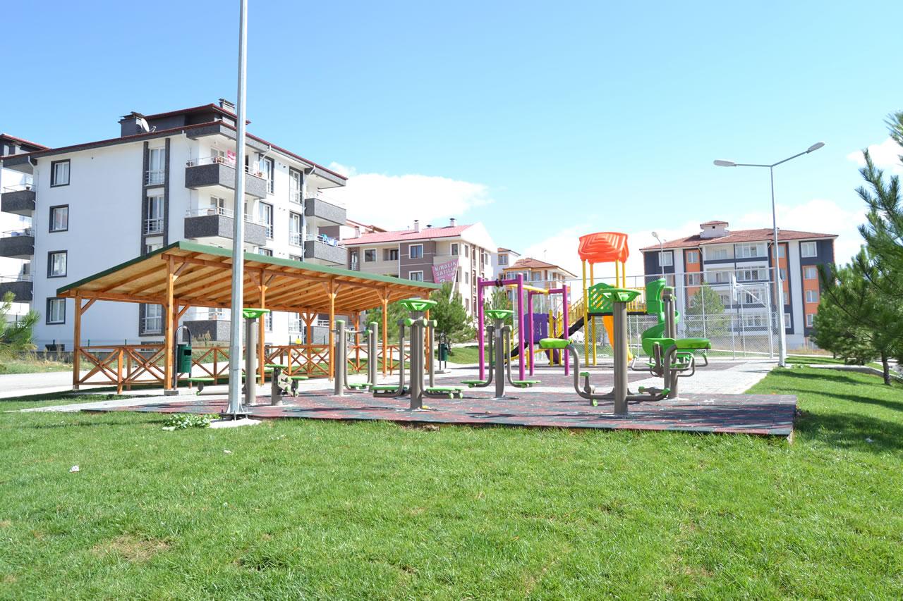 Kılavuzlar Mahallesi Parkı Açılışa Hazır