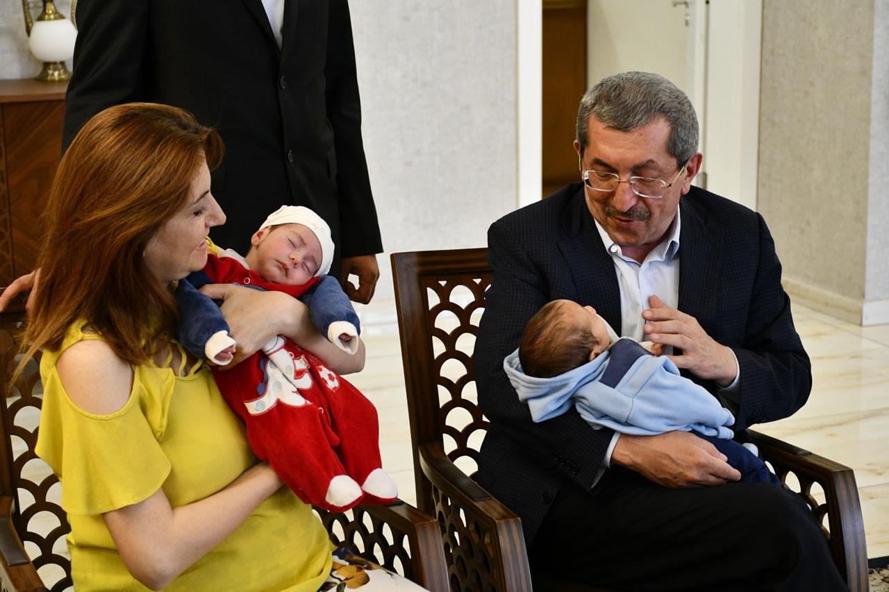 İkizler Kırk Uçurmaya Başkan Vergili'ye Geldiler
