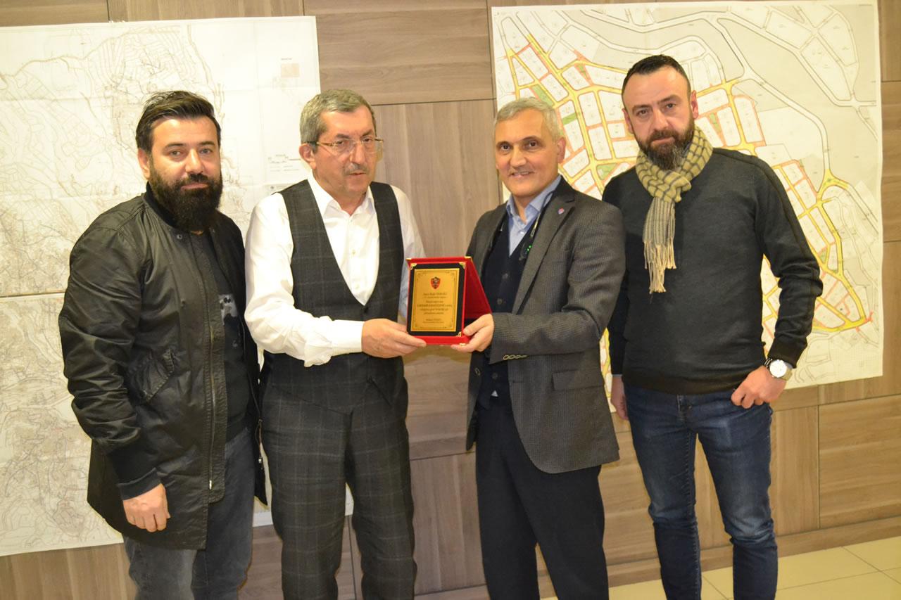 Karabükspor Yöneticilerinden Başkan Vergili´ye Ziyaret