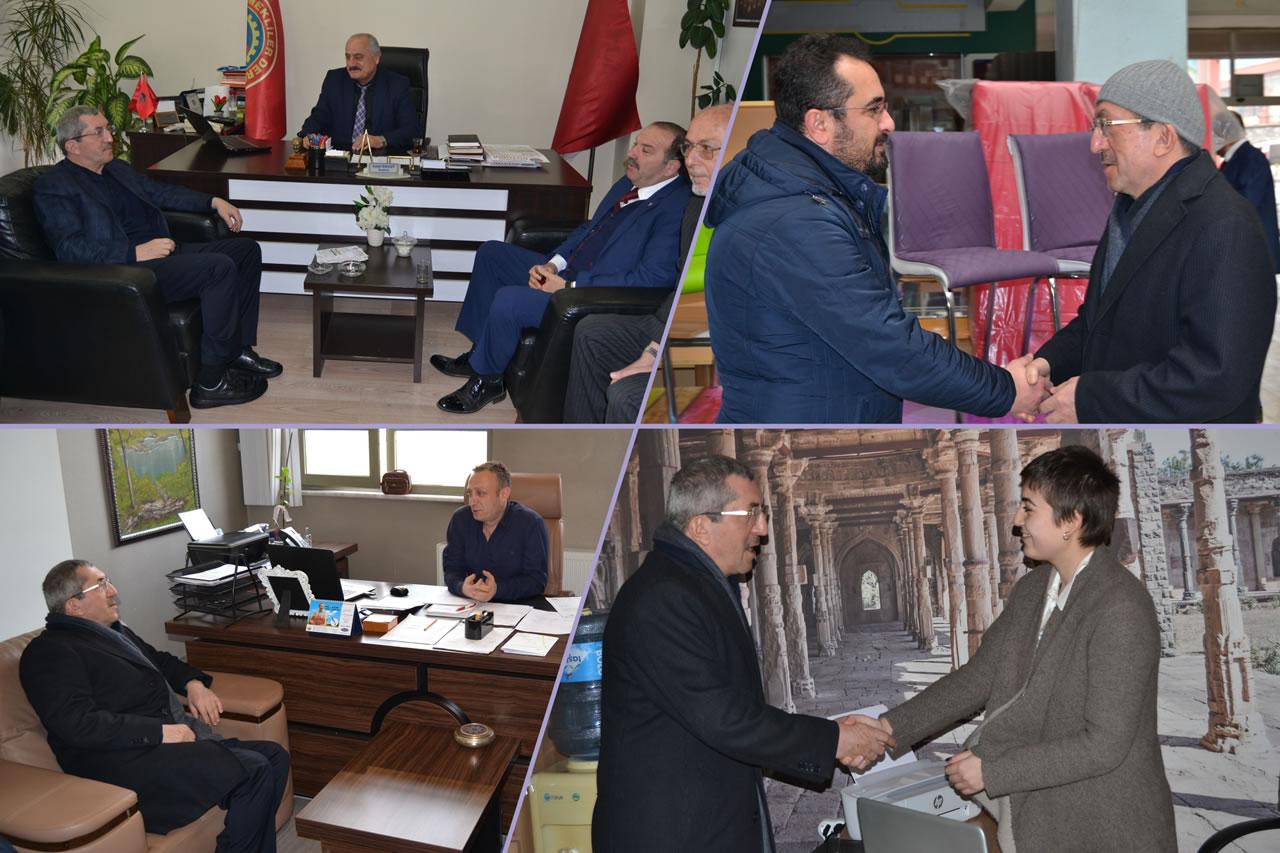 Başkan Vergili Mesaisine Esnaf Ziyareti ile Başladı