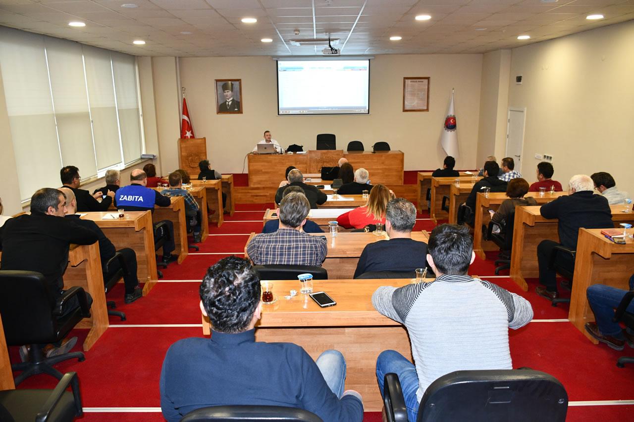 Belediye Personeline Elektronik Belge Yönetim Sistemi Eğitimi Verildi